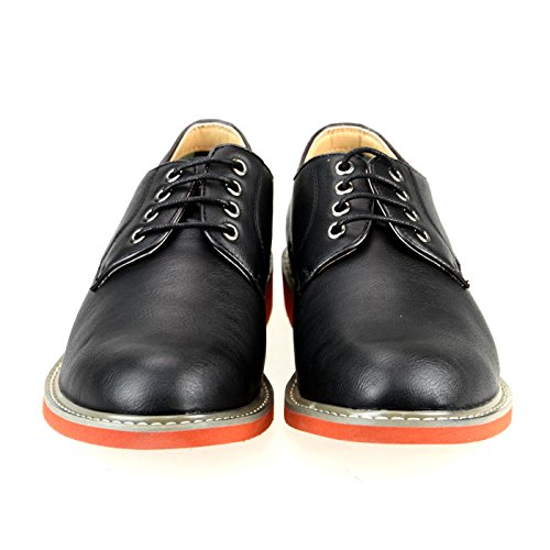 O-NINE Casual Dress Shoes Drving Laceup Shoes Beige Black Brown Gray Navy Red Camel Camo Yoms1300blackst 7Qw2w2o