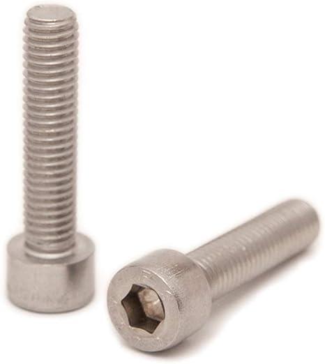 10 St/ück DIN 912 Gewindeschrauben Edelstahl A2 V2A- rostfrei Eisenwaren2000 Zylinderschrauben mit Innensechskant M3 x 8 mm - Zylinderkopf Schrauben ISO 4762