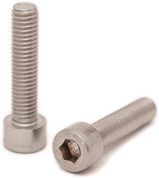 | Zylinderschrauben 2 St/ück DERING Zylinderschrauben M5x30 mit Innensechskant DIN 912 Edelstahl A2 rostfrei Zylinderkopf Schrauben