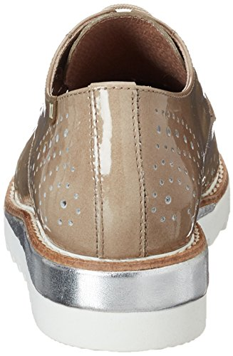 Mujer Para Derby 531 Beige 002 Vitti De Cordones 206 gobi Love Zapatos wF800afq