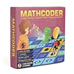 MATHCODER Board Game - Defeat The Computer Virus Using Your Math. Geeky STEM Gift for Kids 6 Years and Above. Addition, Subtraction, Multiplication and Division with Coding.