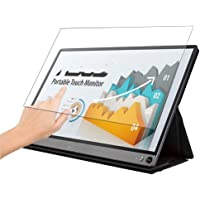 """Puccy Anti Blue Light Tempered Glass Screen Protector Film, compatible with ASUS MB16AMT 15.6"""" Display Monitor (Active…"""