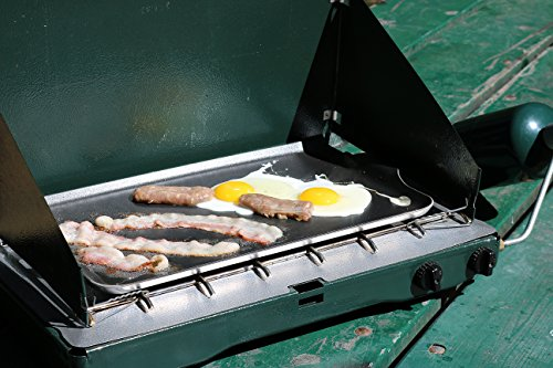 Coghlan's Two Burner Non-Stick Camp Griddle, 16.5 x 10-Inches by Coghlan's (Image #3)