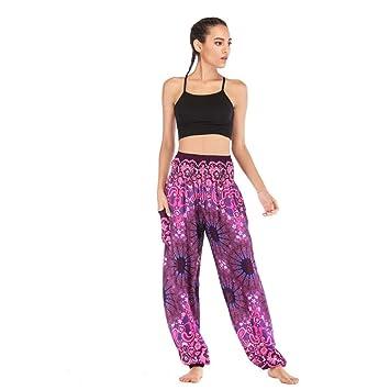 KKIMISPORT Mujeres Pantalones de Yoga Mandalas Impreso ...