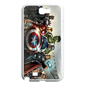 Samsung Galaxy Note 2 N7100 Phone Case White Avengers BWI1850709