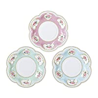 Talking Tables Truly Chintz, Paper Plates, 14cm (12 pack in 3 designs)