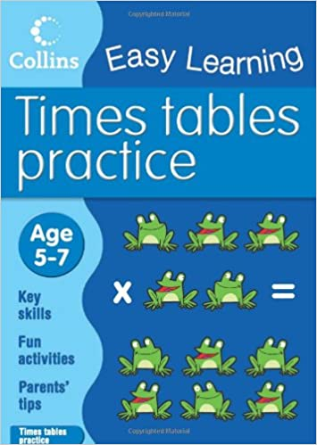 Book Times Tables Practice: Age 5-7 (Collins Easy Learning Age 5-7)
