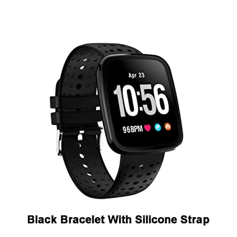ZCPWJS Pulsera Inteligente V6 Smart Watch Hombres Fitness ...