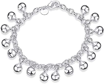 BOX 925 Sterling Silver Chain Anklet 9 Inch Adjustable to 10 Inch