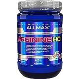ALLMAX Nutrition - Arginine HCl - Maximum Strength + Absorption - Pharmaceutical Grade - 400 Gram