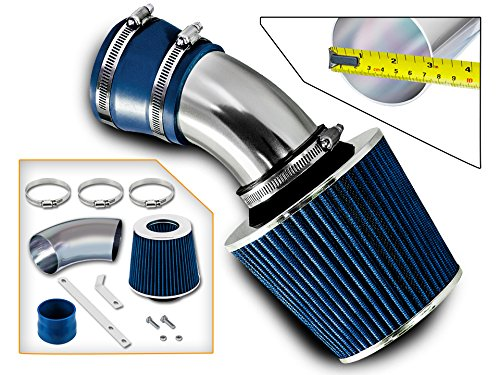 RSG Racing Heat Shield Intake Kit BLUE Compatible For 04-05 Sierra//Silverado 2500HD//3500 V8 6.6L ONLY Diesel LLY Engine ONLY