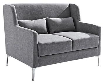 Benformato Home Kuchensofa Benformato Home Grau 2 Sitzer Sofa