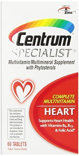 Centrum Specialist Heart, 60 Count Pack of 3