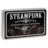 Lily's Home Steampunk Gentlemen's Playing Cards and 5 Dice Set