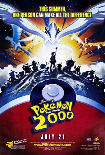 amazon com pokemon the movie 2000 the power of one poster movie