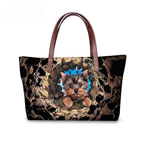 Women FancyPrint Casual Shoulder C8wc3602al Handbags Print Animals Bags BITIgnqOC