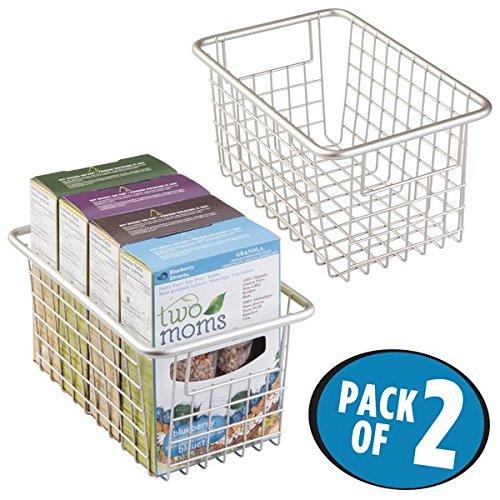 fridge baskets with handles - 4