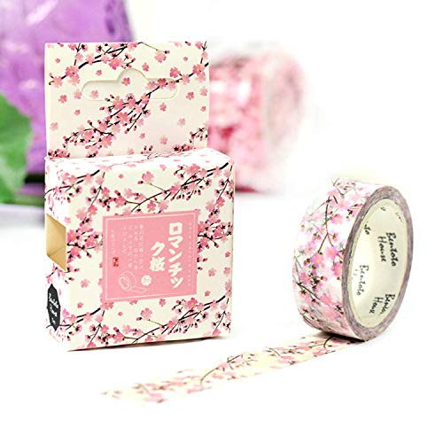 Cute 15mm X 7m Lotkawaii Flower Food Animals Decorative Washi Tape DIY Scrapbooking Masking Tape School Office Supply (U) -