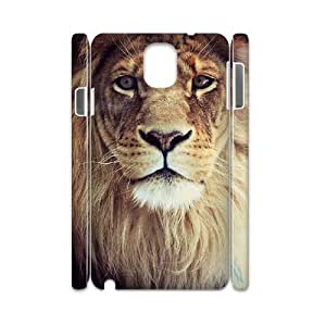 Lion 3D-Printed ZLB554876 DIY 3D Cover Case for Samsung galaxy note 3 N9000