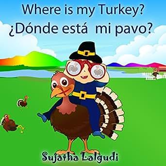 Children's Spanish: Where is my Turkey. Dónde está mi pavo