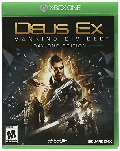 Square Enix 91635 Deus Ex: Mankind Divided Day One Edition Xbox