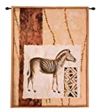 Impressions of Africa IV Modern Tapestry