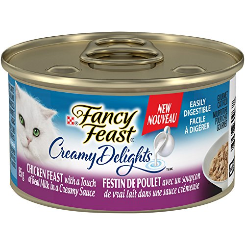 Purina Fancy Feast Creamy Delights Chicken Feast Cat Food 85g Can Nestle Purina Pet Care 055800000446