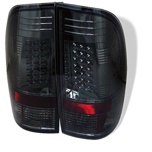 Smoke Lens//Chrome Housing Spyder Auto 111-FF15097-LED-SM LED Tail Lights
