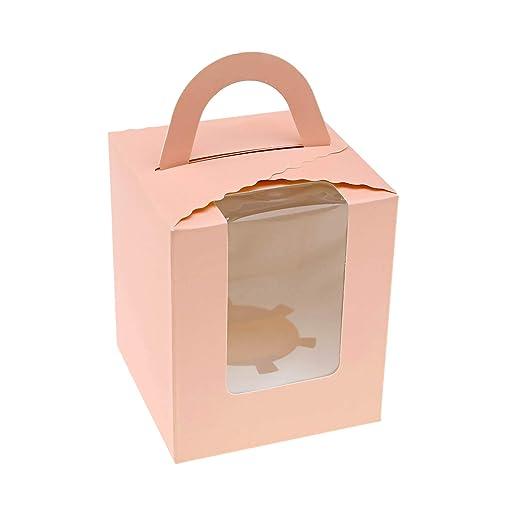 Creative-Idea - Cajas para Pasteles, Magdalenas, Simple ...