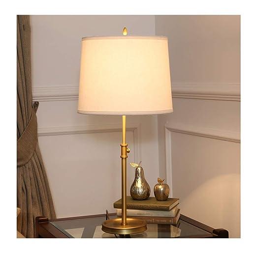 Bonita lámpara de mesa Lámpara de escritorio Lámpara de cobre ...