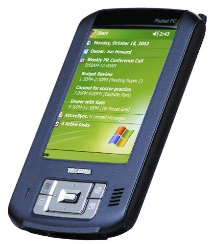 Toshiba e405 Pocket PC with Windows Mobile 2003
