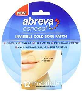 Abreva Conceal Cold Sore Patch, 12 Count
