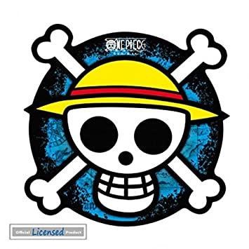 4901865f6 One Piece Mouse Pad - Skull Logo Straw Hat Crew, Silhouette, Luffy ...
