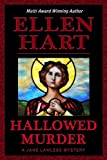 Front cover for the book Hallowed Murder by Ellen Hart