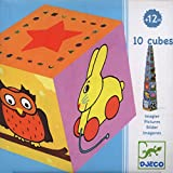Djeco / Colorful Pictures Nesting & Stacking Cubes
