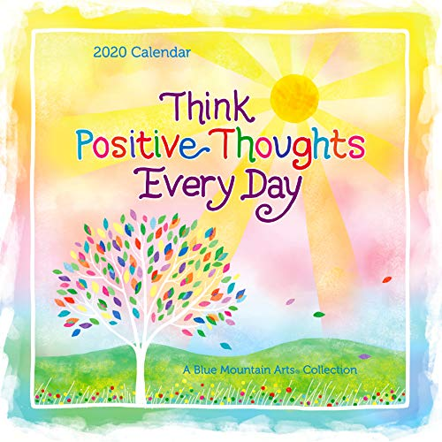 (2020 Calendar: Think Positive Thoughts Every Day, 12