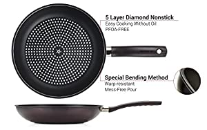 Happycall 5 Layer Diamond Nonstick Frying Pan 8inch