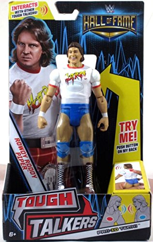 Mattel WWE Hall of Fame 6 Tough Talkers Hot Rod Rowdy Roddy Piper ()