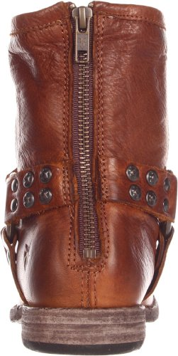 Leather Cognac Studded Boot Vintage Frye Soft Harness Women's Phillip qwnpRg