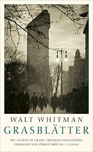 Walt Whitman: Grasblätter; Gay-Bücher alphabetisch nach Titeln