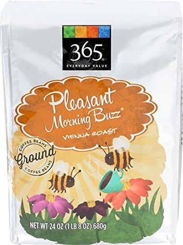 365 Everyday Value, Pleasant Morning Buzz Vienna Roast Ground Coffee, 24 oz
