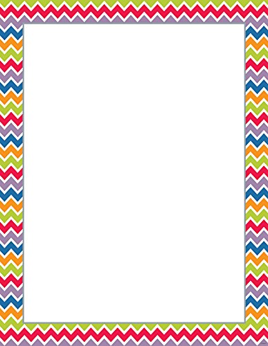 Creative Teaching Press Chevron Blank Poster Chart (0172)