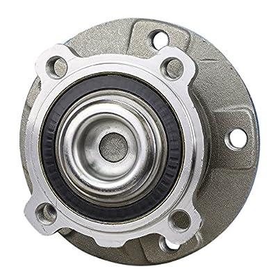 CRS NT513210 New Wheel Bearing Hub Assembly, Front Left (Driver)/ Right (Passenger), for 2004-2010 BMW 645CI/ 650i/ 525i/ 528i/ 530i/ 535i/ 535i GT/ 545i/ 550i: Automotive