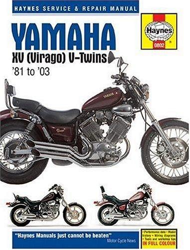 Yamaha Virago Manual - 3
