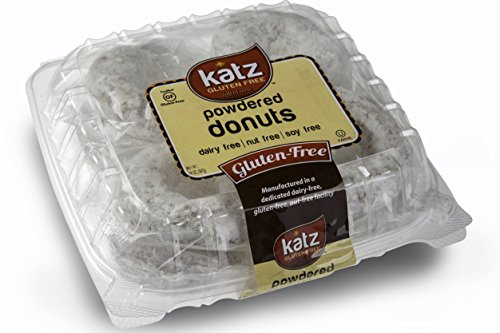 Katz, Gluten Free Individual Wrapped GRAB 'N' GO Powder Donuts, 14 Ounce, Certified Gluten Free - Kosher - Dairy Free, Nut Free & Soy free (Pack of - Candy Of List Sour