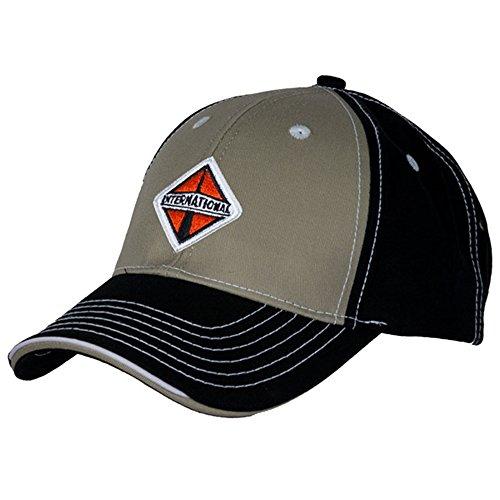 International Trucks Black & Khaki Cotton Twill Contrast Cap/Hat