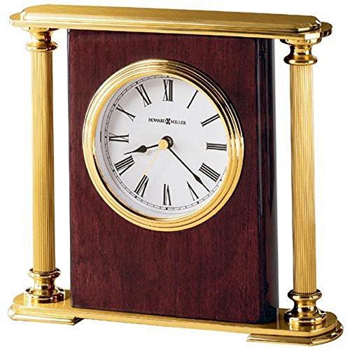 Encore Desktop Clock by Howard Miller