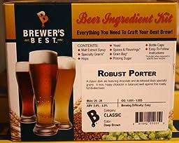 Robust Porter Homebrew Beer Ingredient Kit by Brewer\'s Best