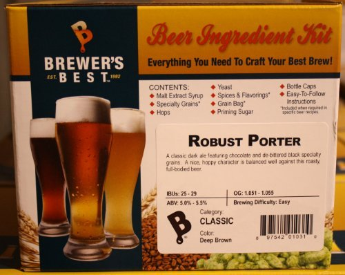 Brewer's Best Robust Porter Home Brew Ingredient Kit by Brewer's Best