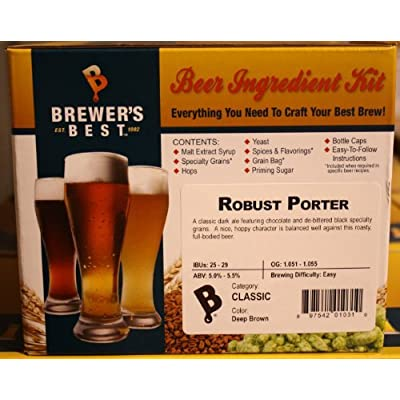 Brewer's Best 1031 Robust Porter Homebrew Beer Ingredient Kit